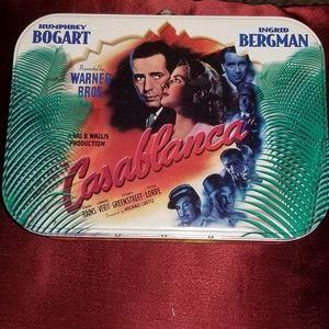 """Vintage Retro-Style """"Casablanca"""" Metal Lunchbox"""